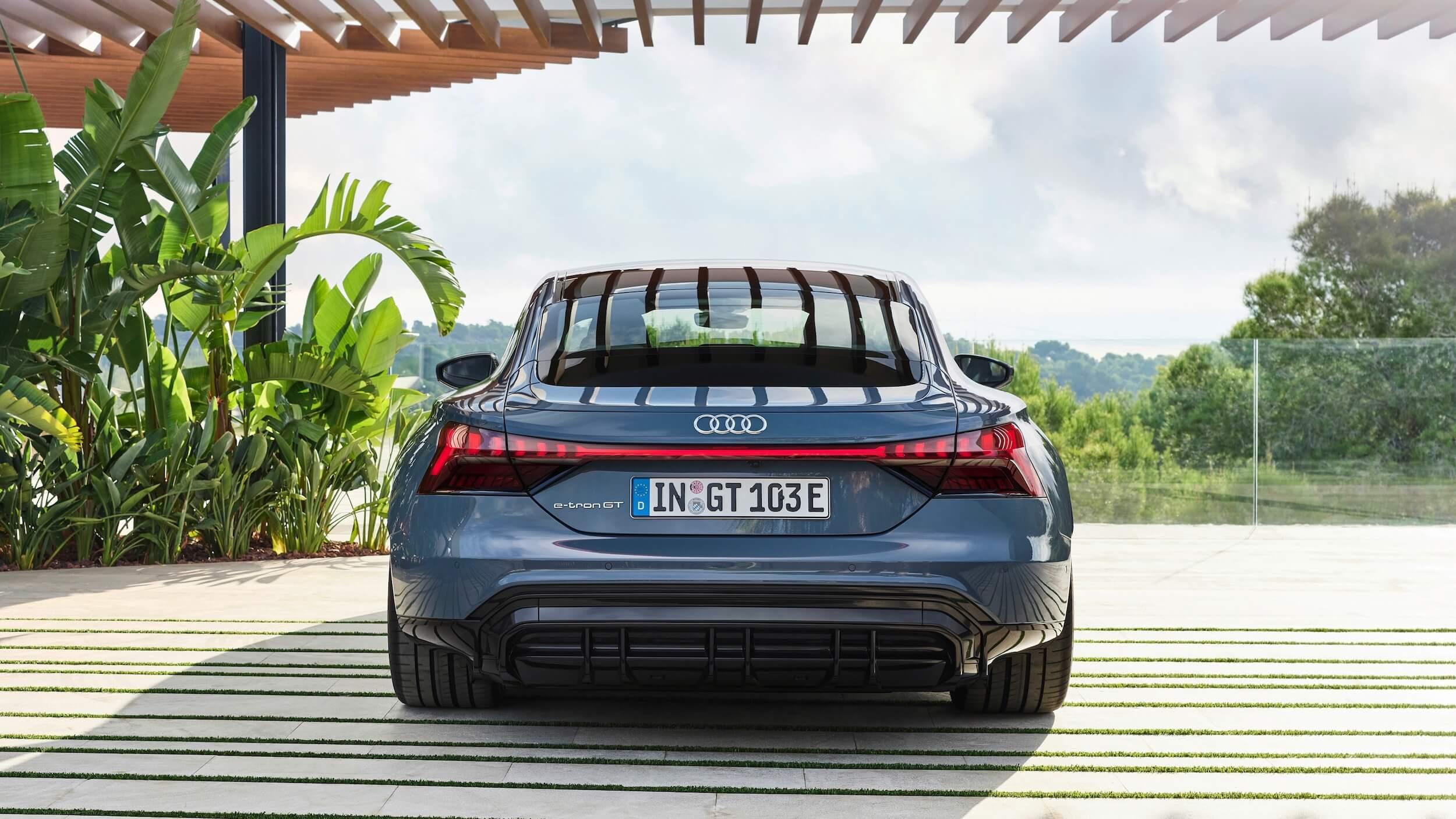 Audi e tron GT quattro achterkant