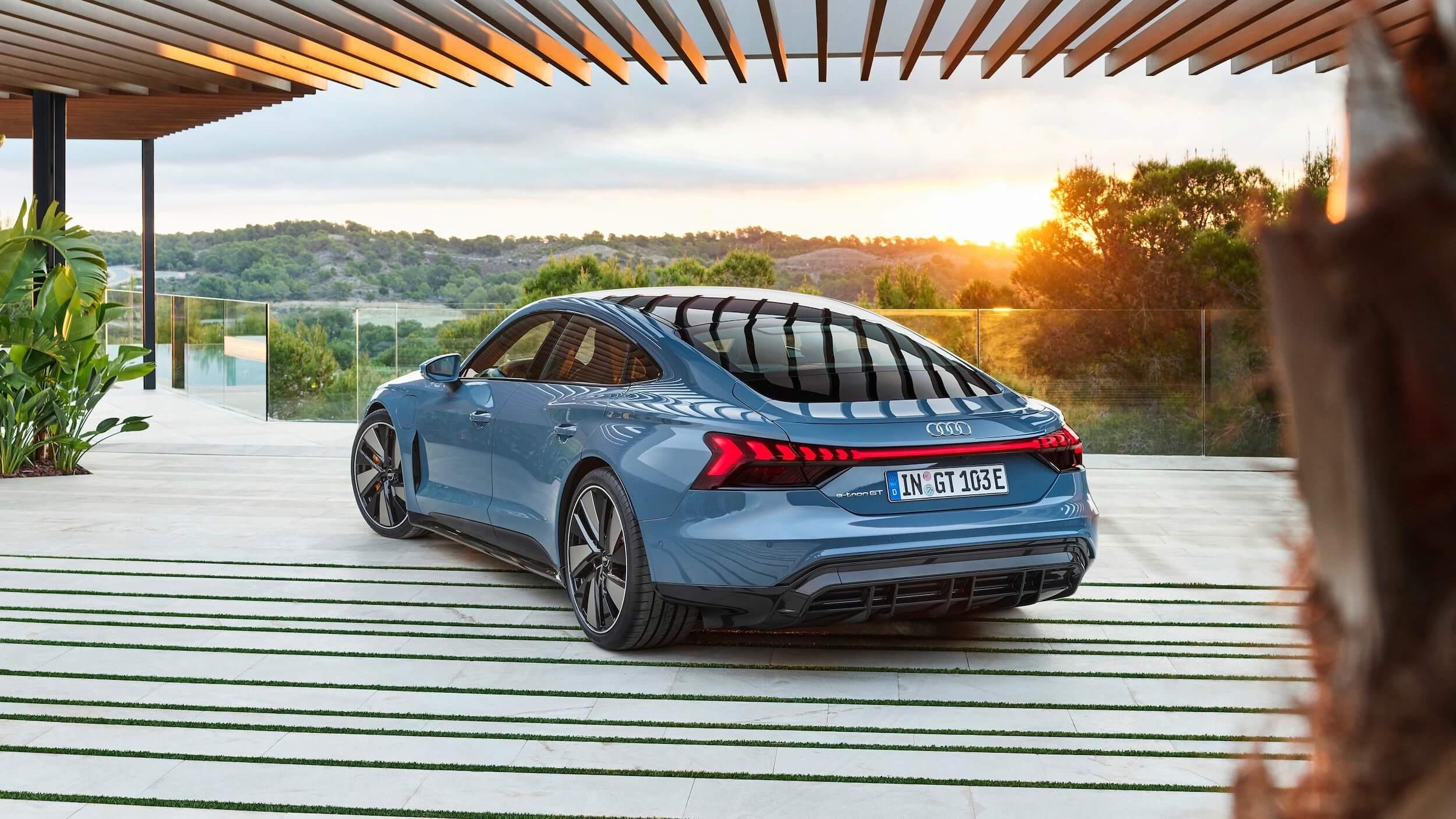 Audi e tron GT quattro elektrische auto