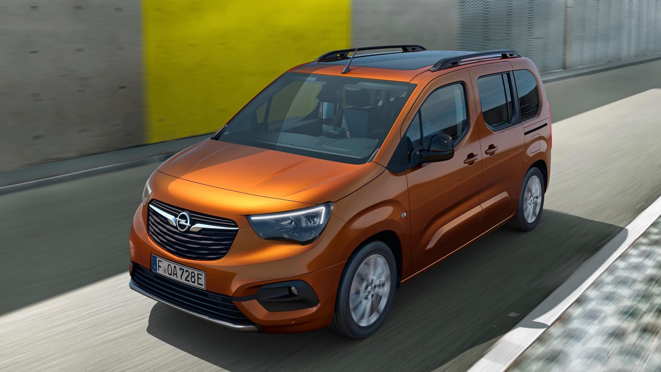 Elektrische Opel Combo e Life