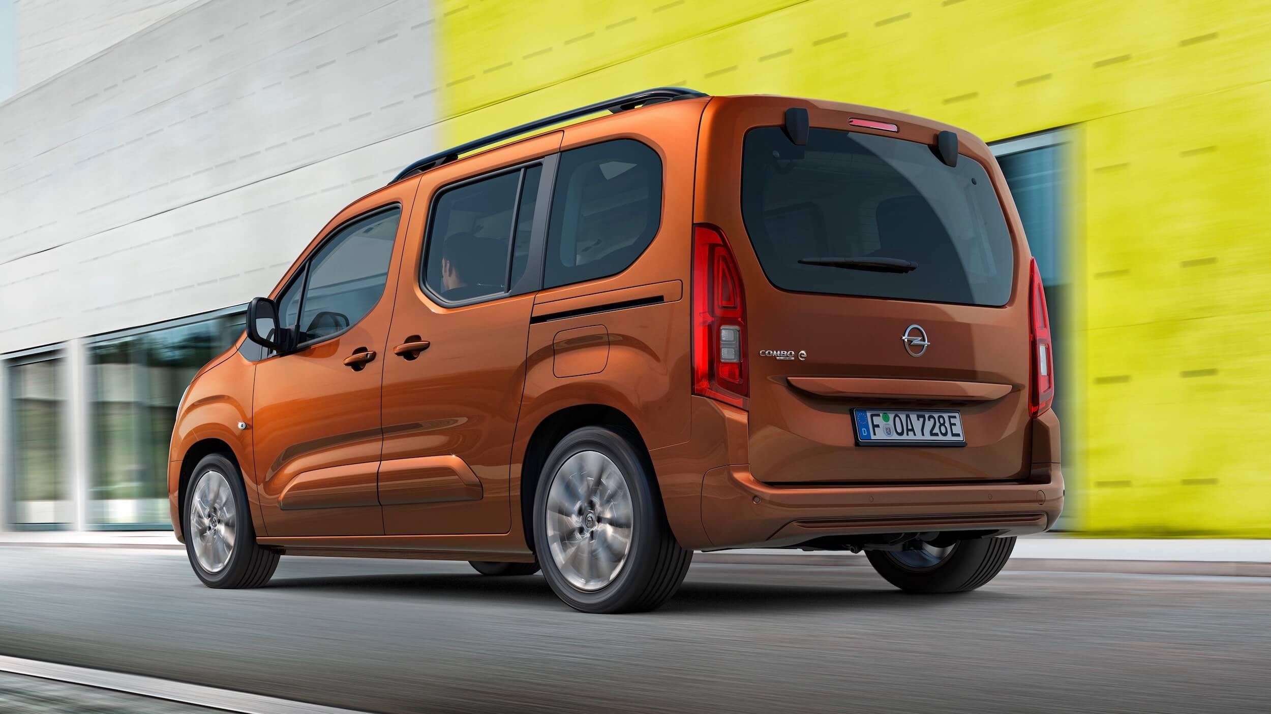 Opel Combo e Life Elektrische Auto