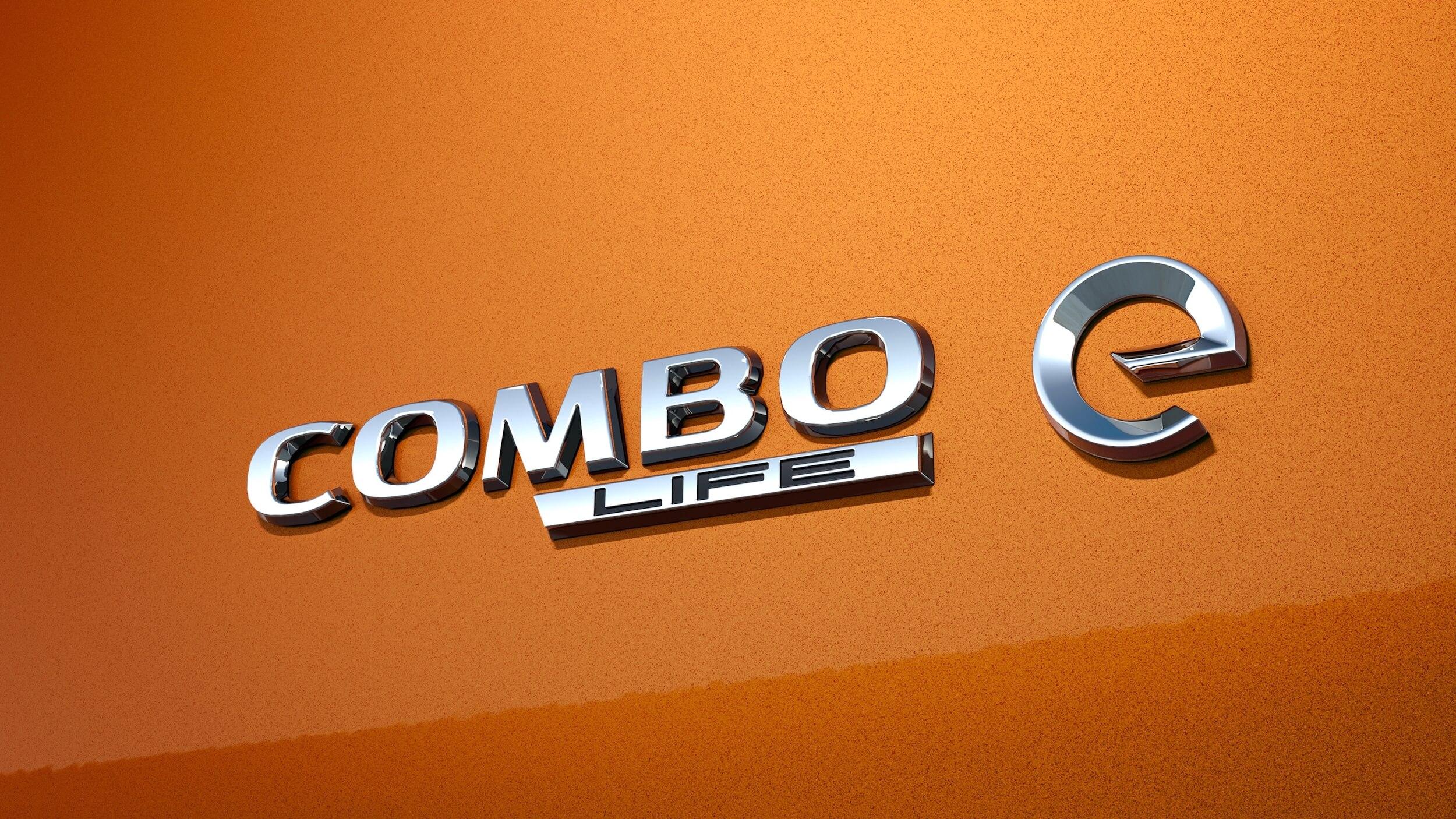Opel Combo e Life badge