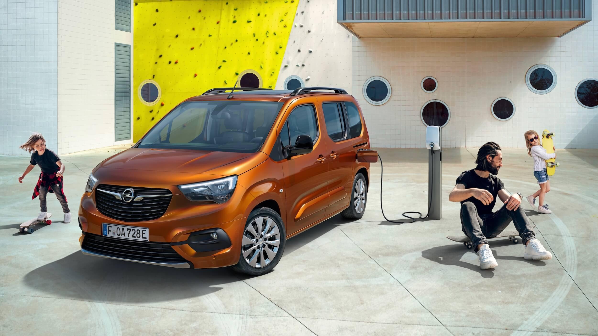 Opel Combo e Life opladen