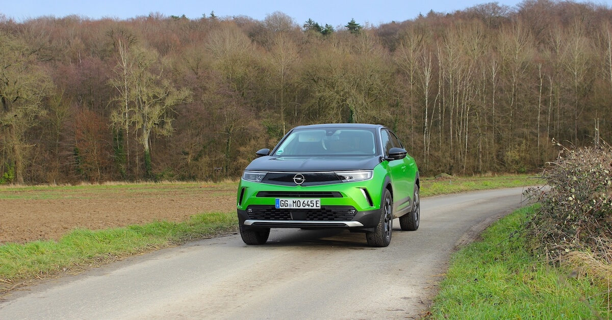 Opel Mokka e groen