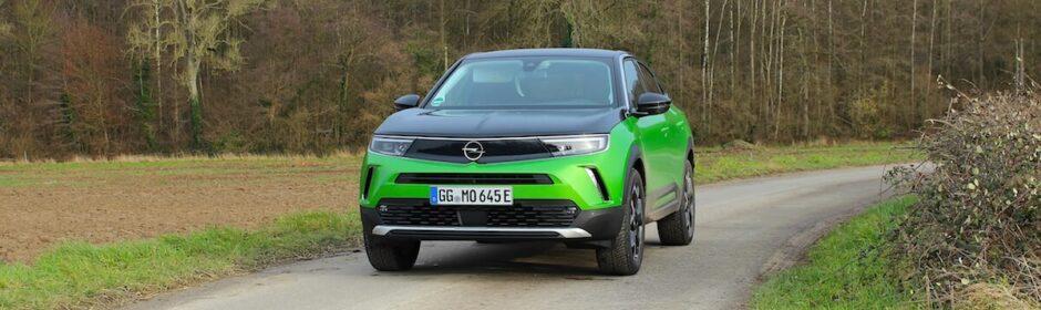 Opel Mokka e verde