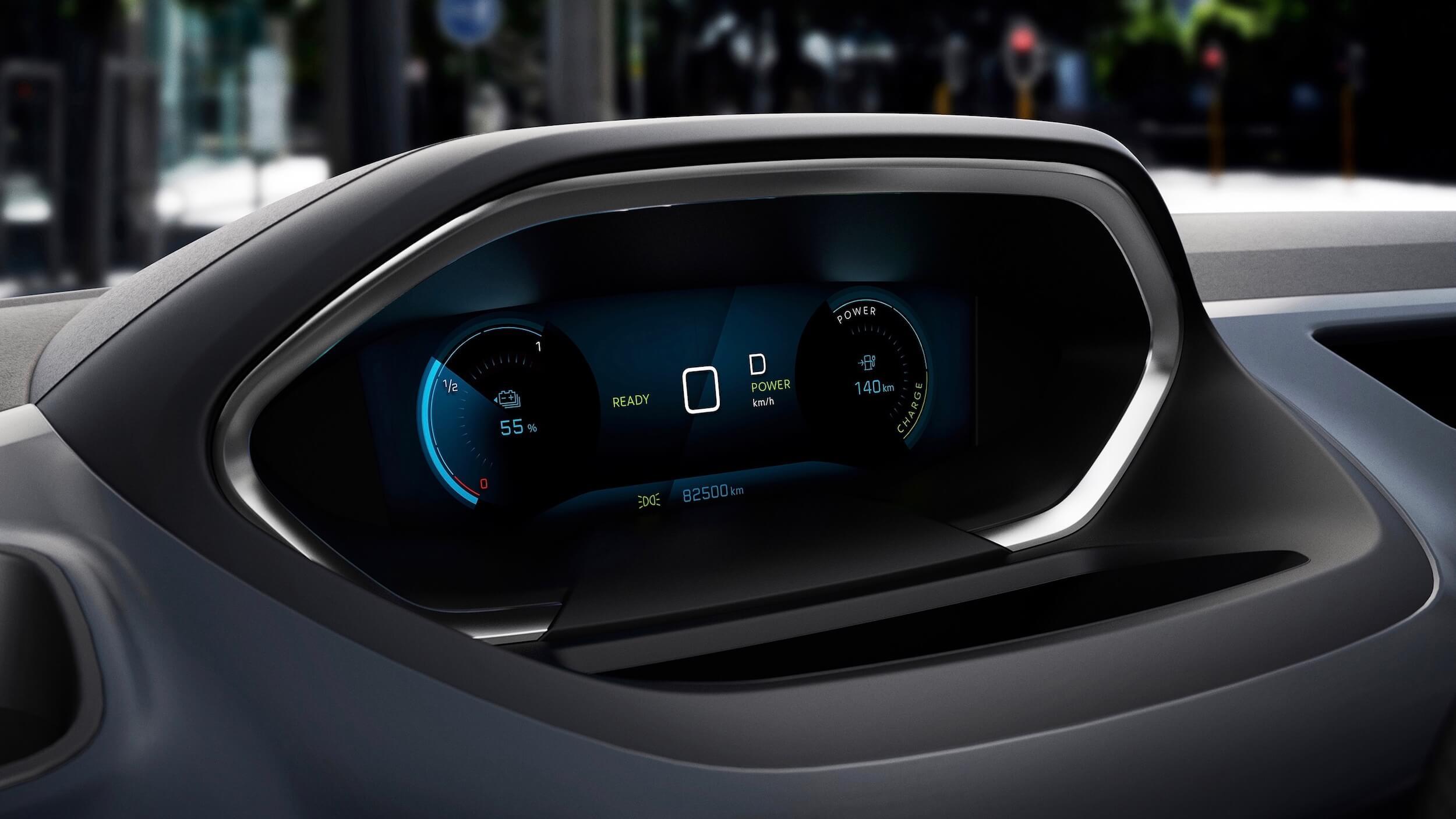 Peugeot e Rifter snelheid