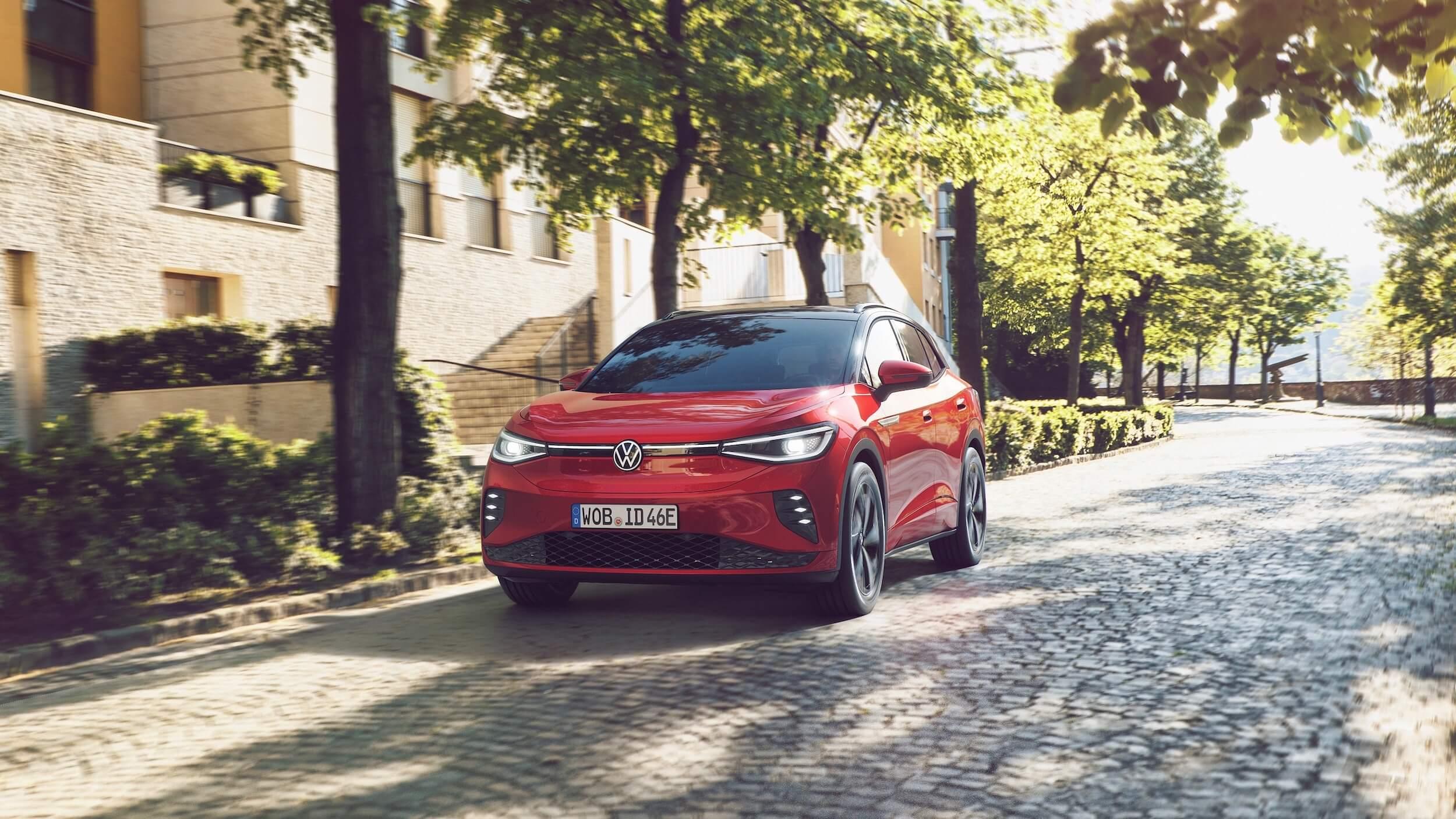 VW ID.4 rood