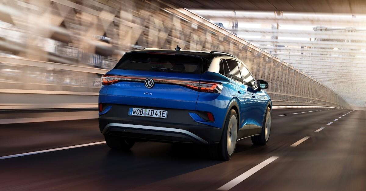 Volkswagen ID.4 achteraan