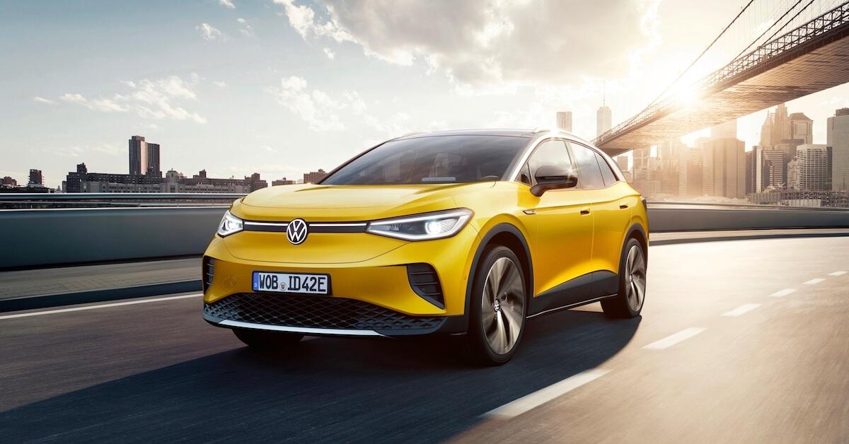 Volkswagen ID.4 elektrische auto