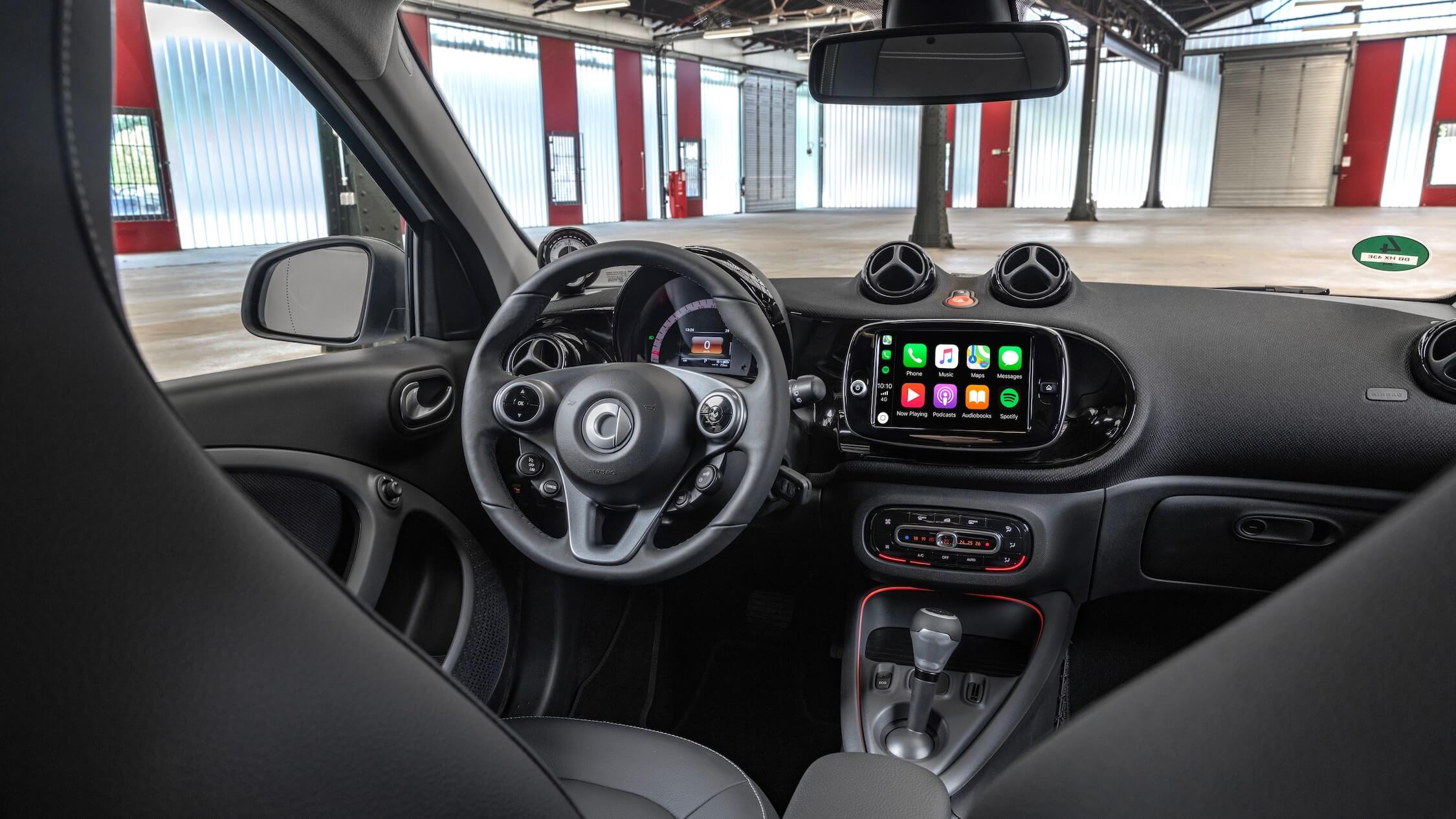 elektrische Smart interieur