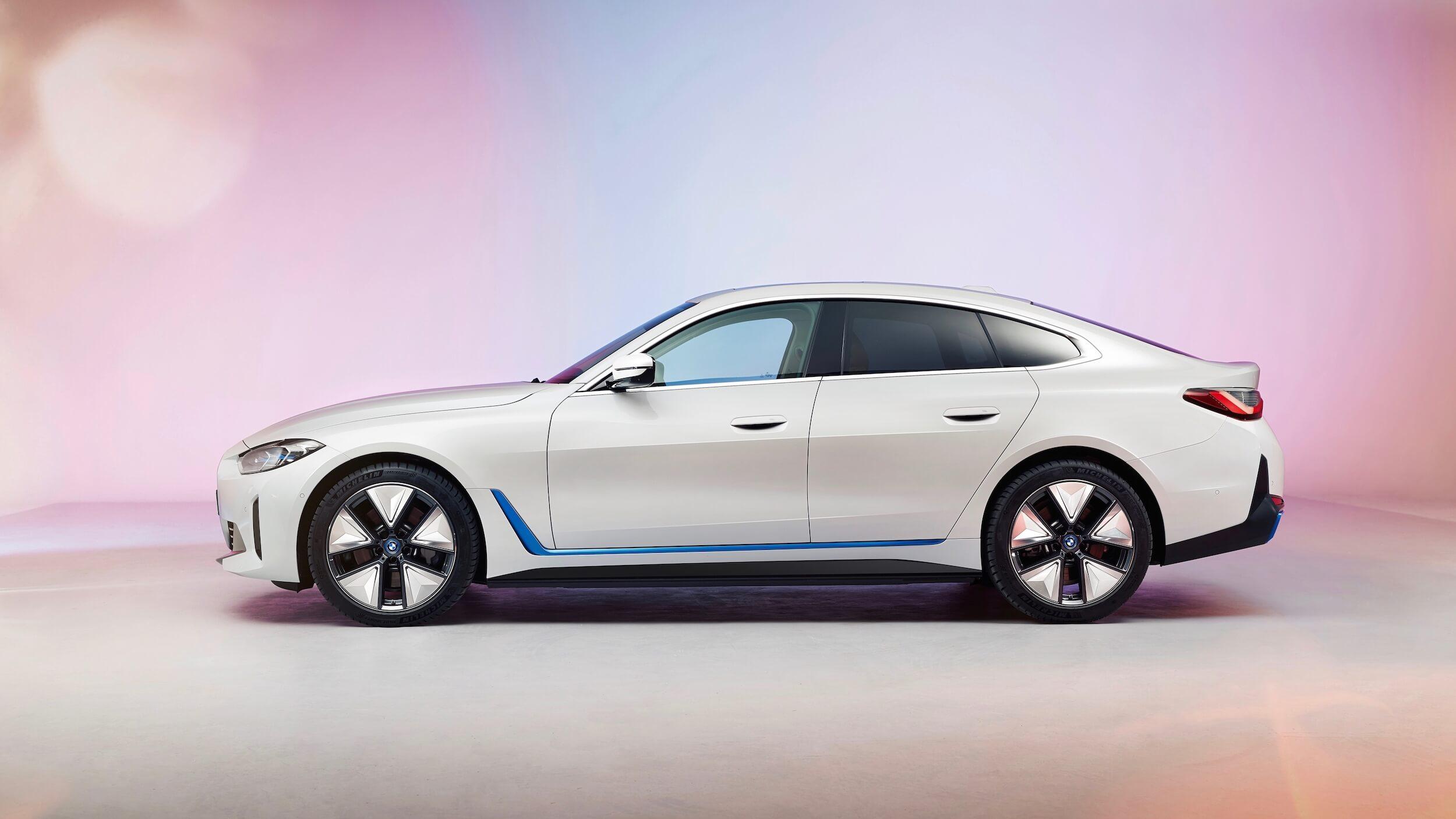 BMW i4 profiel