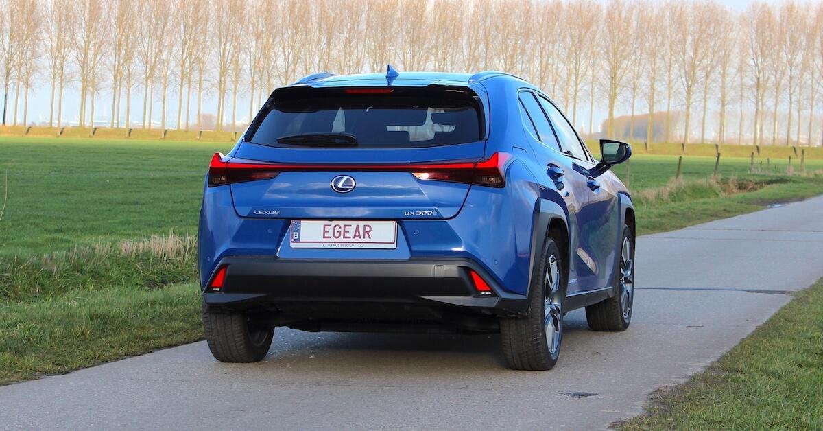 Lexus UX 300e elektrische SUV