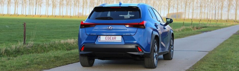 Lexus UX300e elektrische auto