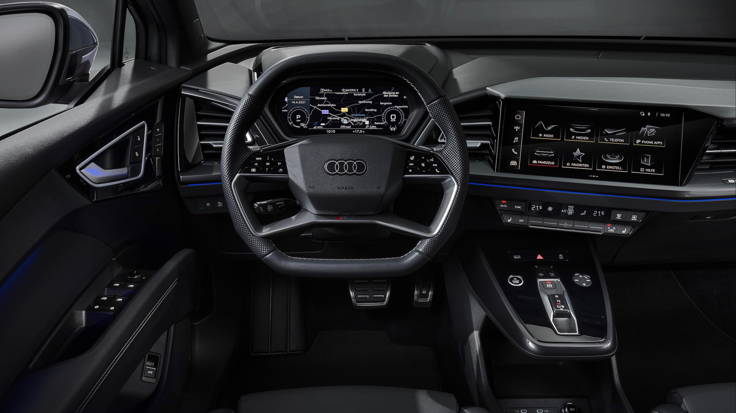 Audi Q4 Sportback e tron stuur