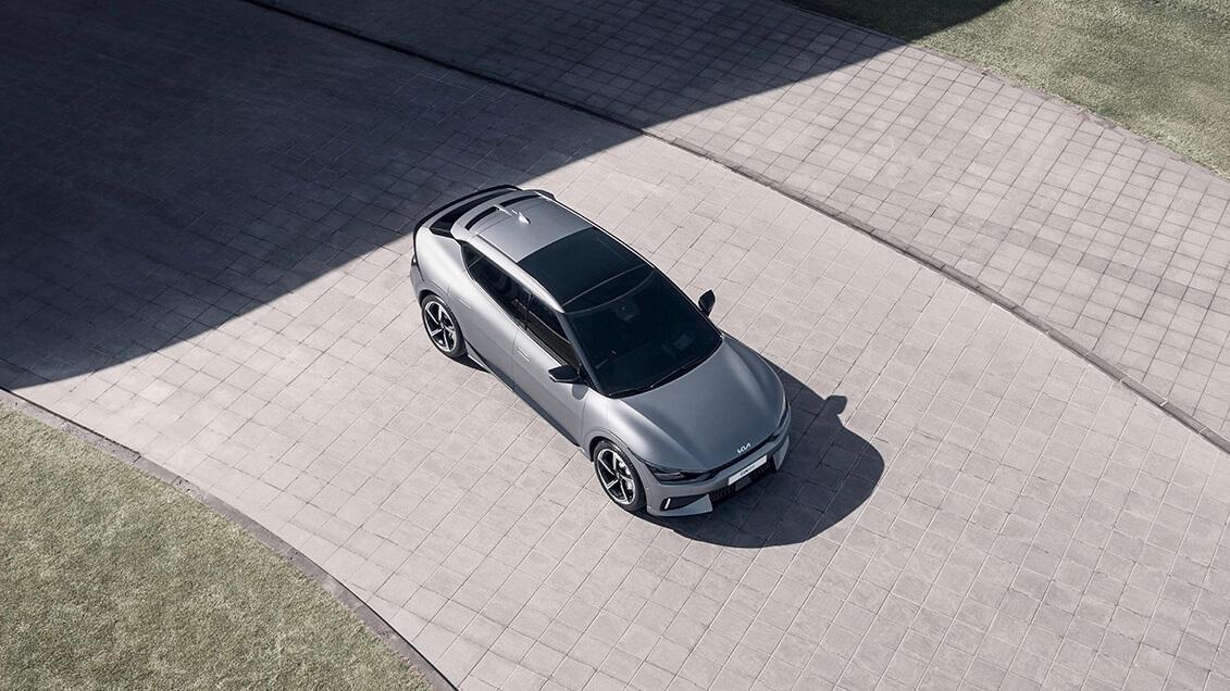 Kia EV6 GT bovenkant