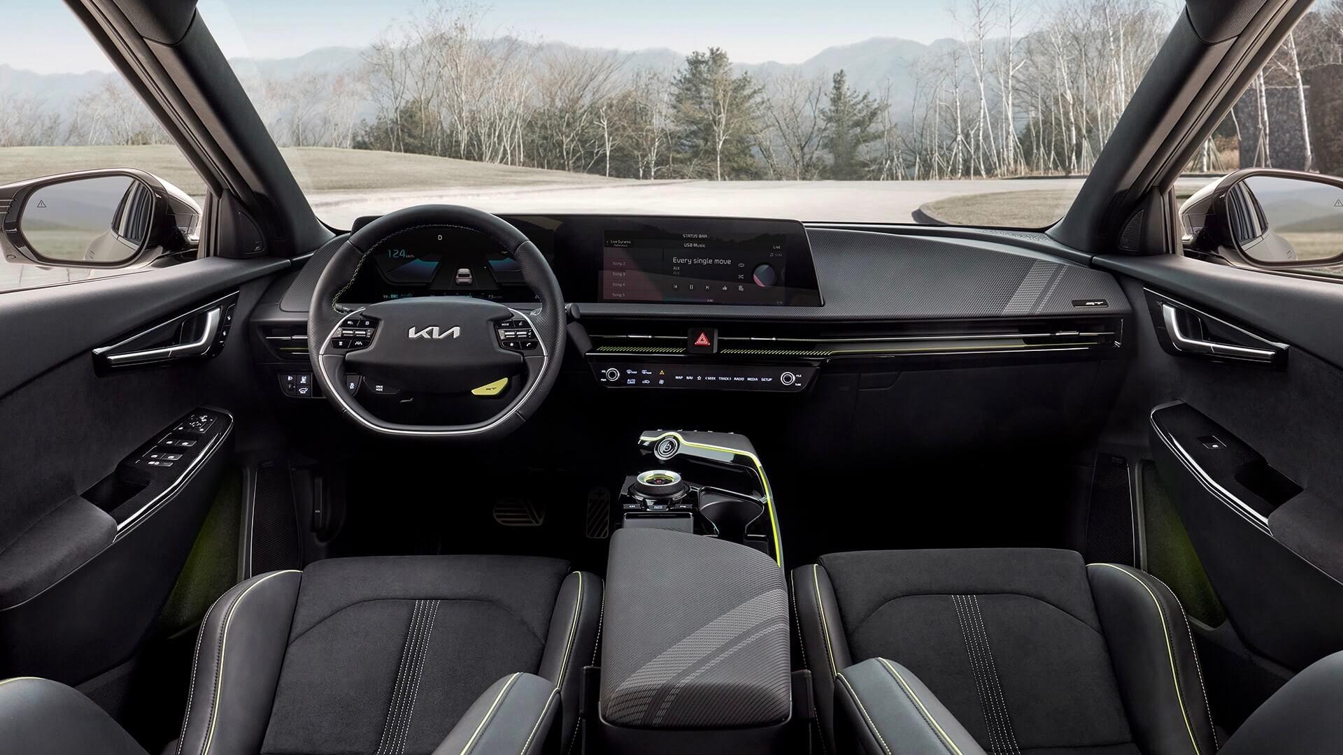 Kia EV6 GT dashboard