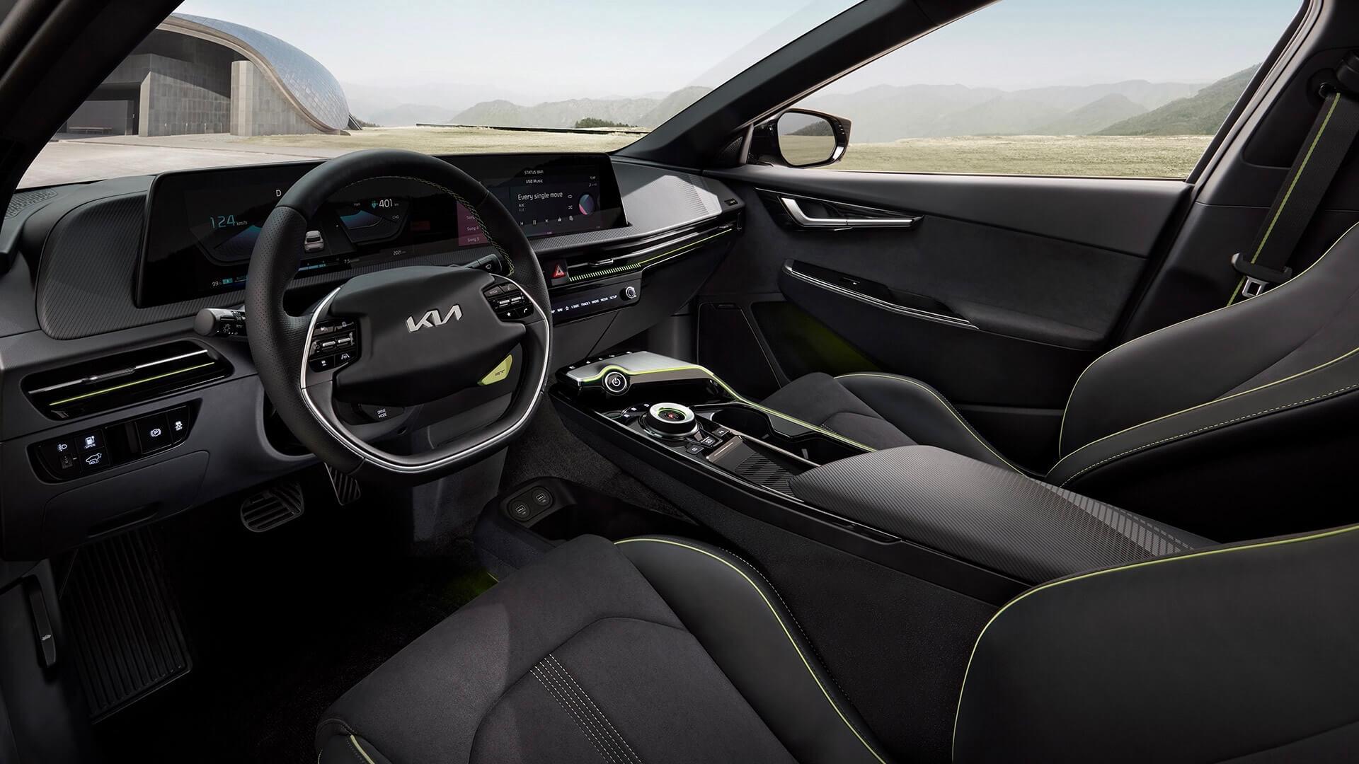 Kia EV6 GT interieur