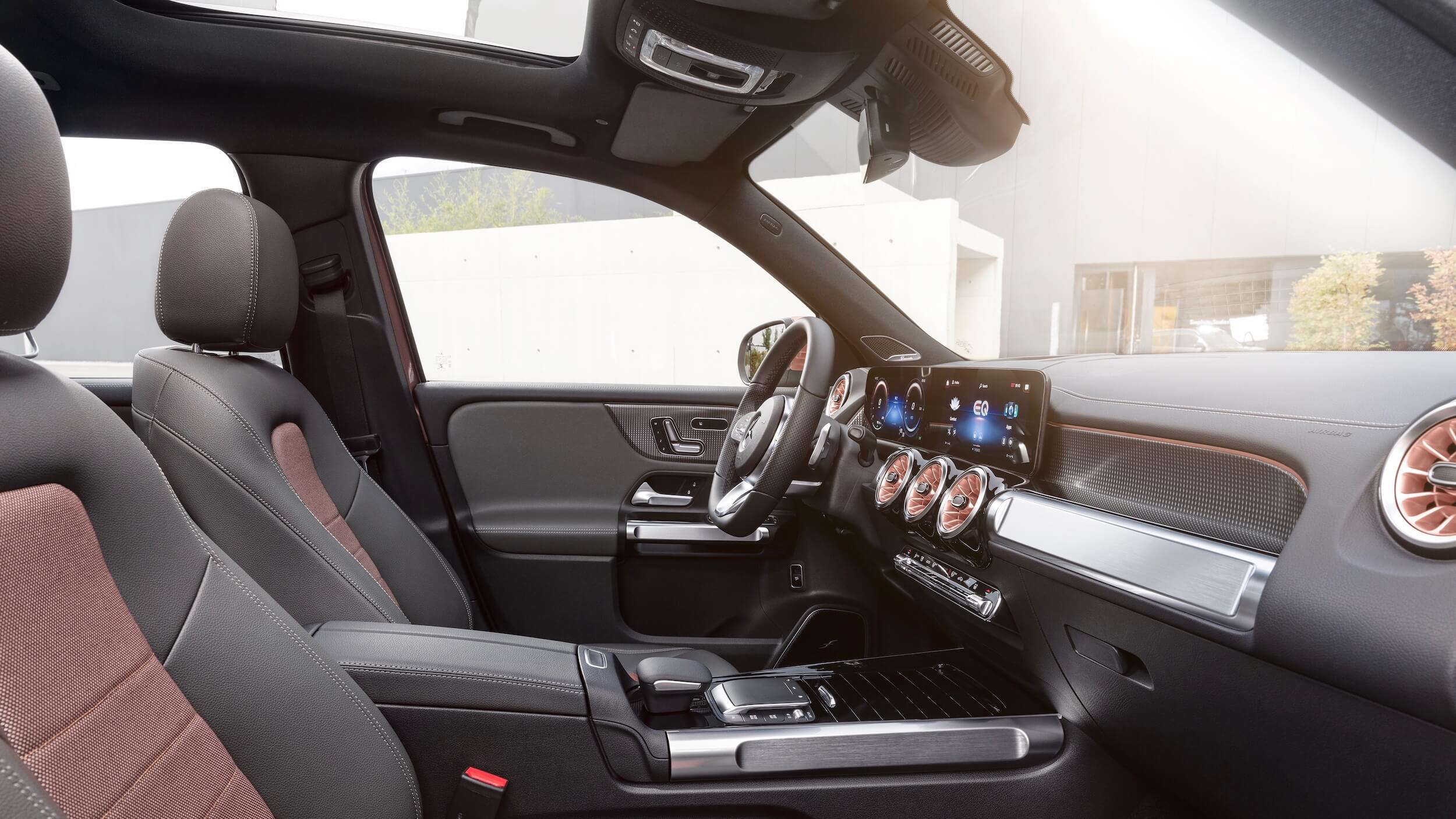 Mercedes EQB interieurkeuzes