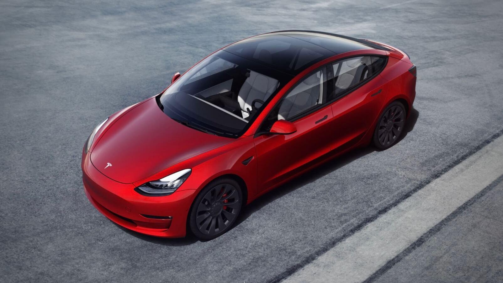 Nieuwe Tesla Model 3