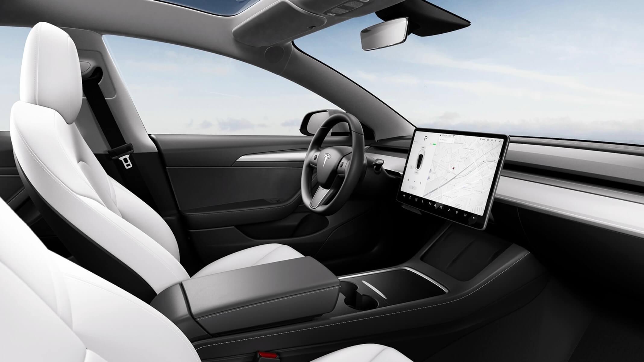 Tesla Model 3 nieuw deurpaneel wit