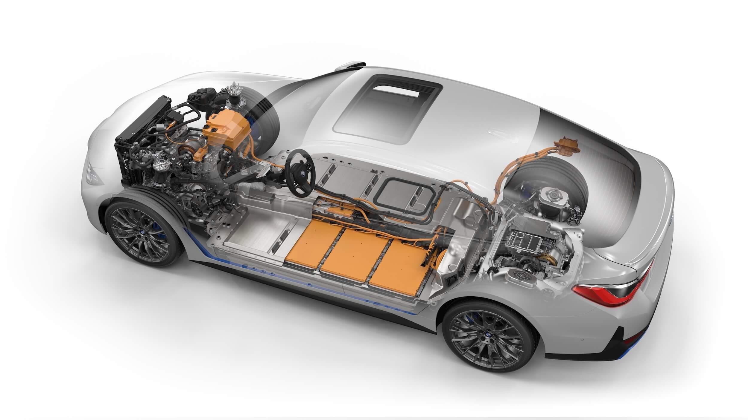 BMW i4 M50 accu