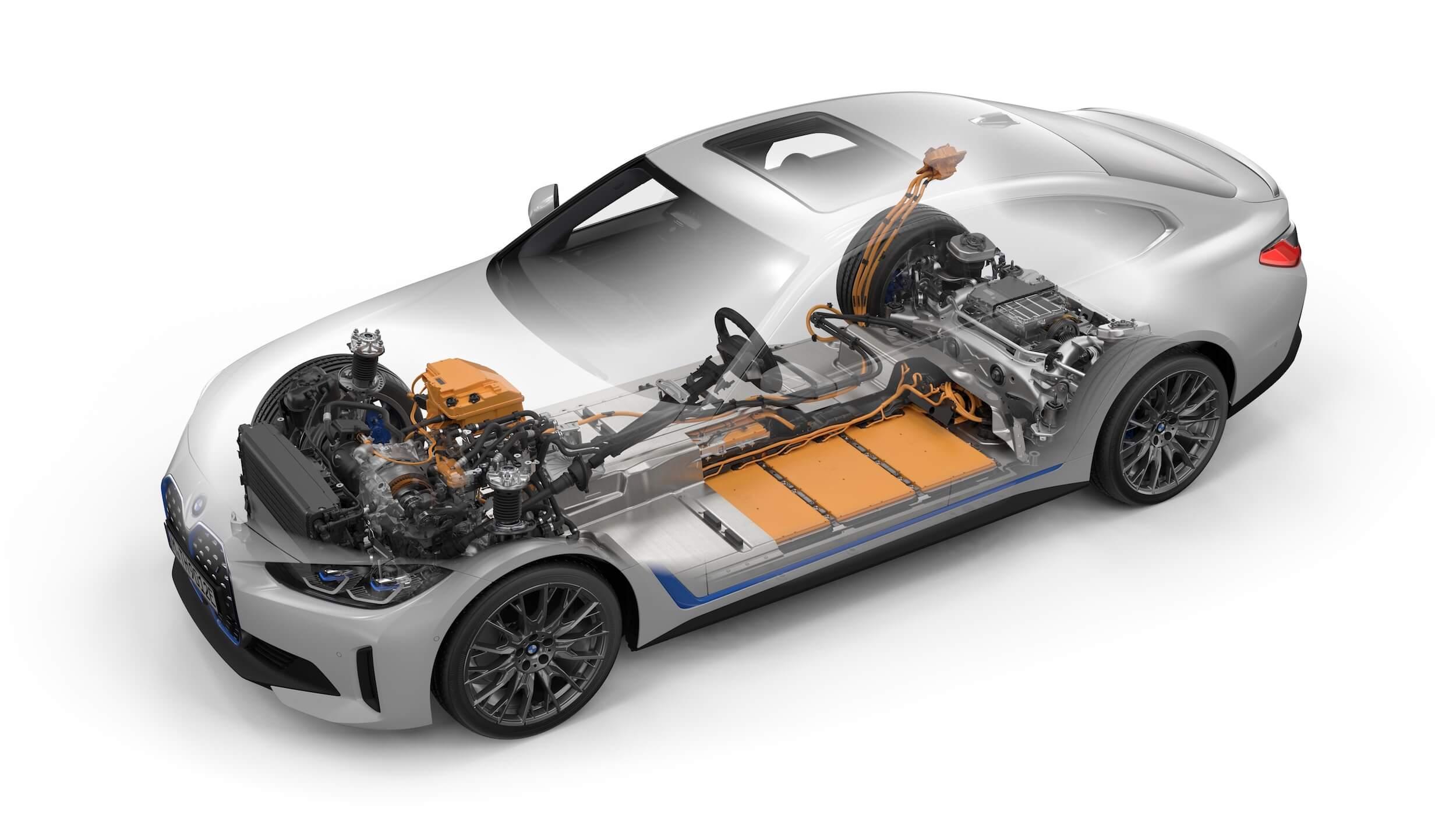 BMW i4 M50 batterij