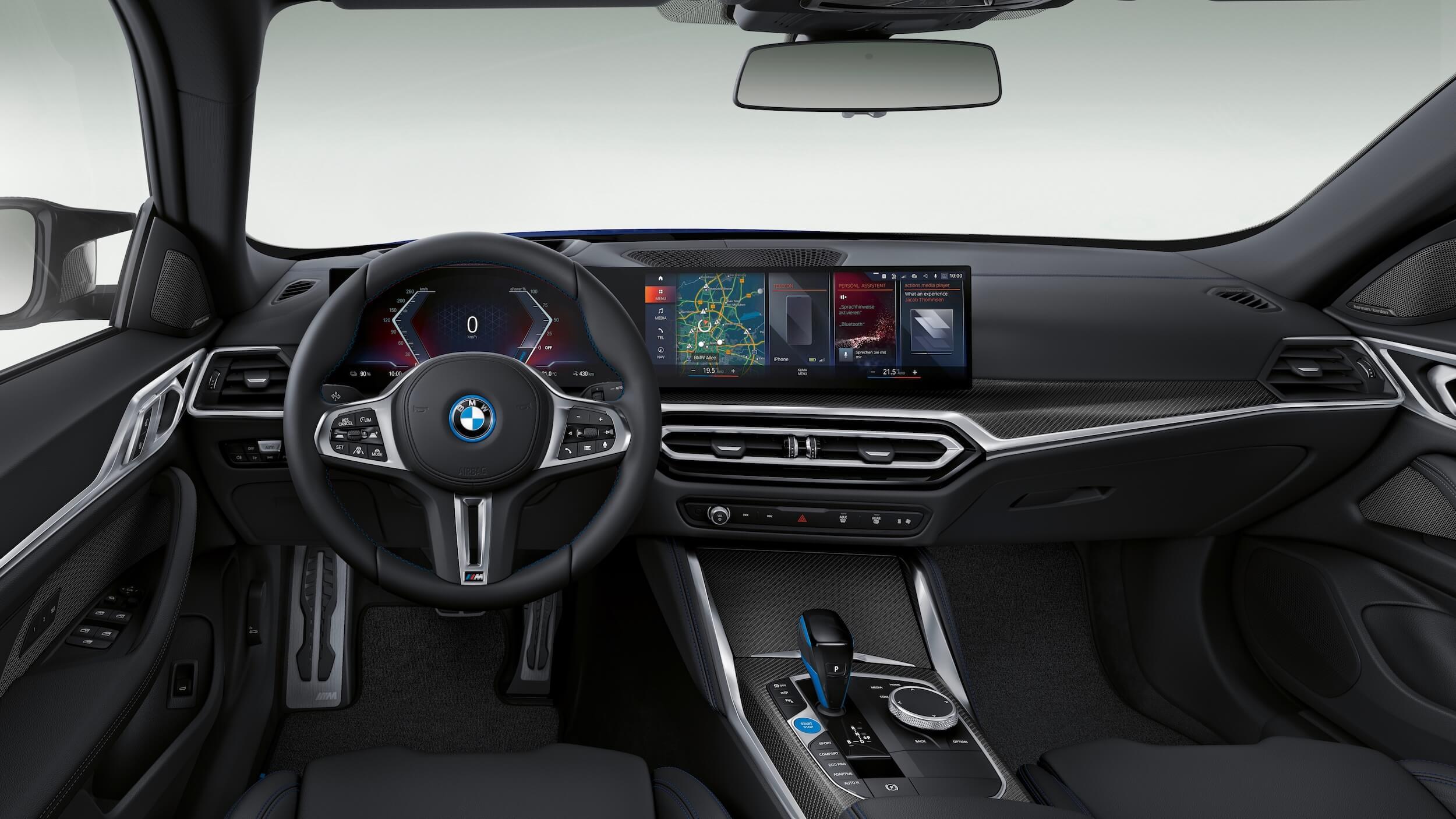 BMW i4 M50 interieur
