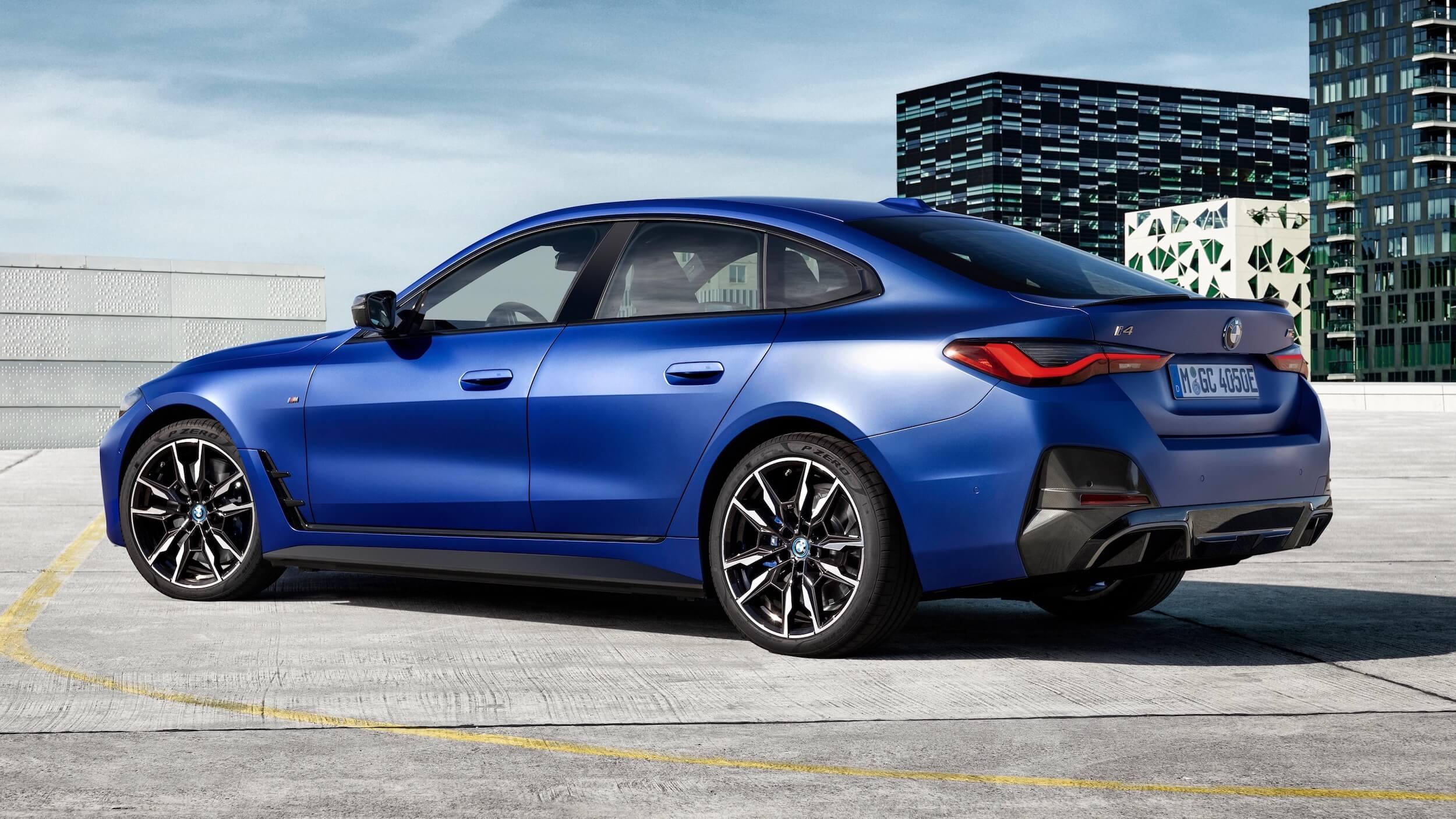 BMW i4 M50 sport