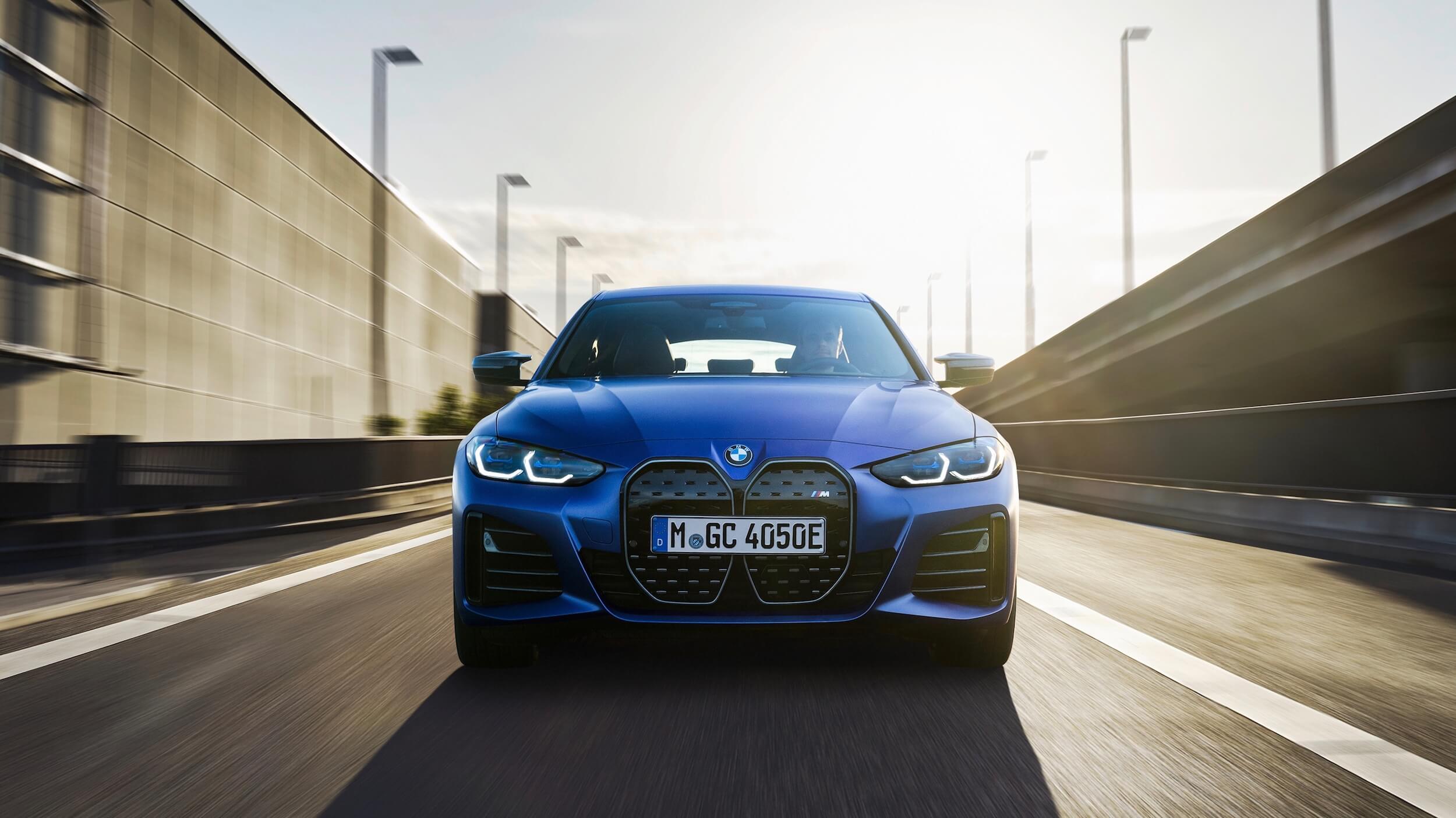 BMW i4 M50 voorkant
