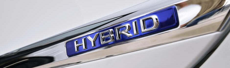 hybride auto badge